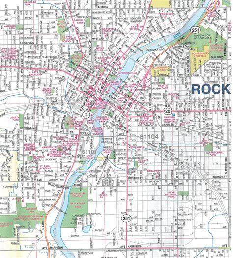 rockford usa map themapstore rockfordrockford illinois city