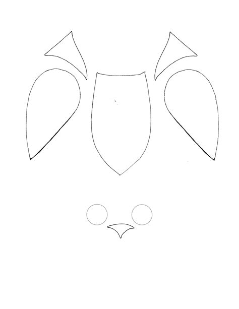 printable owl shapes 4 best images of printable owl template printable owl