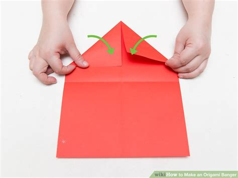 paper banger origami how to make an origami banger 13 steps with pictures
