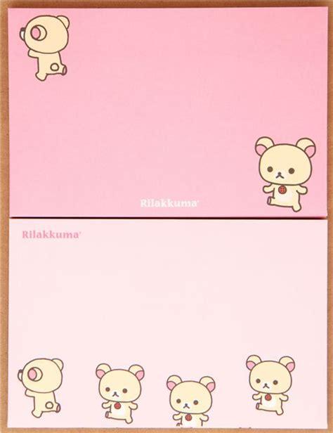 Sanrio Japan Shinkansen White Money Envelope Kawaii Rilakkuma White Envelopes San X Japan Letter