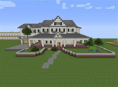 Plantation Style Homes by Townhouse Mansion Minecraft House Design