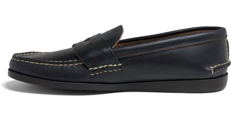 rancourt loafers brothers rancourt co casual loafers in blue for