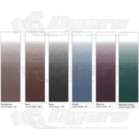 dometic awning colors dometic sandstone 15 universal replacement awning fabric