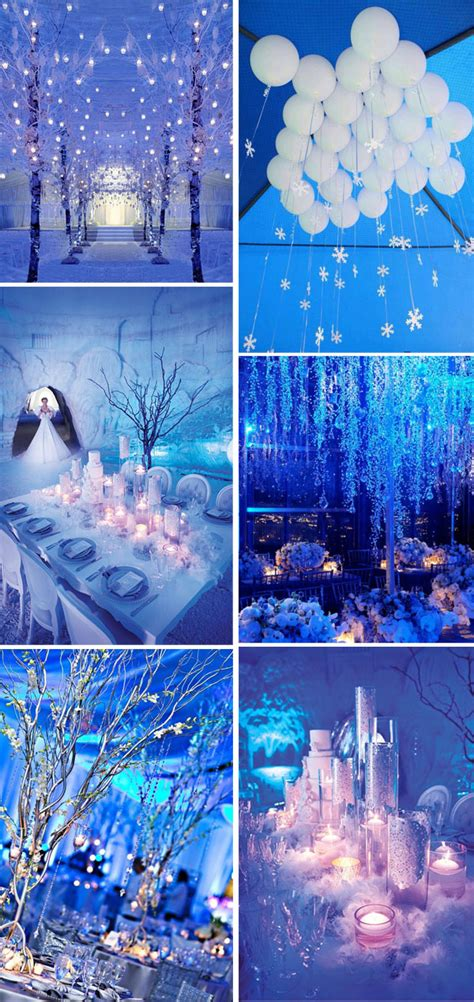 1321 best images about winter themes on pinterest 35 breathtaking winter wonderland inspired wedding ideas