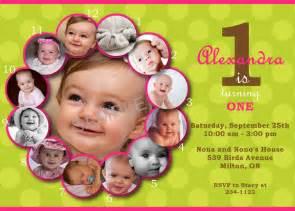 First Birthday Invitation Cards Templates Free First Birthday Invitation Sample