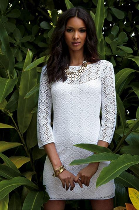 resort 2015 fashion trend black and white lace dior erdem lilly pulitzer resort 13 topanga dress in resort white