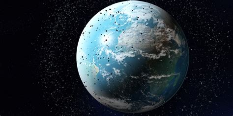 space craft for space junk expert donald kessler we re polluting space