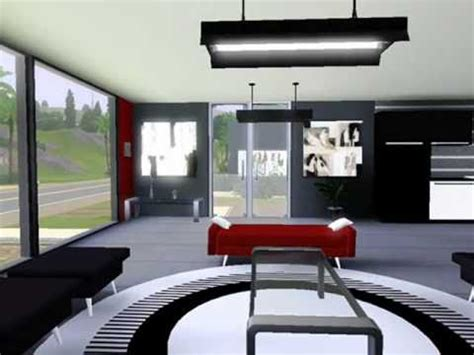 the sims 3 modern interior design youtube modern beach house the sims 3 interior design youtube