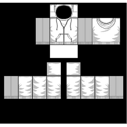 roblox jacket template white hoodie template roblox