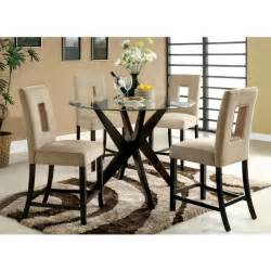 Tempered glass round dining room tables modern interior design ideas