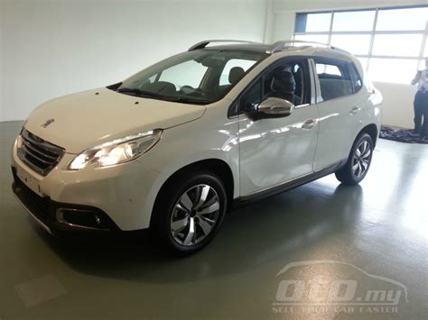 peugeot suv for sale peugeot 2008 suv appears on oto my rm118k