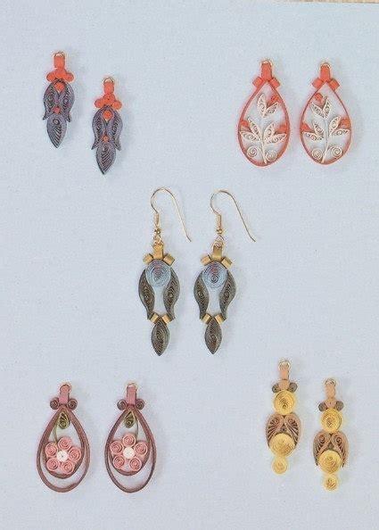 quilling earrings tutorial for beginning beginner s filigree earrings quilling kit 283