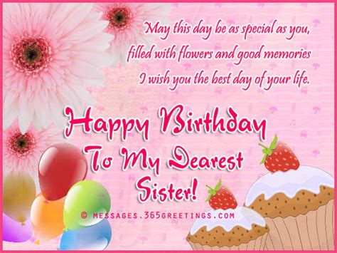 Happy Birthday Wishes For Siblings Happy Birthday Wishes For Sister 2016