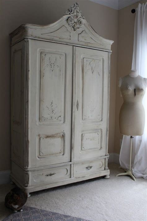 white chalk paint armoire pin by laurie davis on cupboards