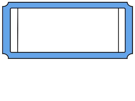 blank ticket stub template blank ticket clipart best