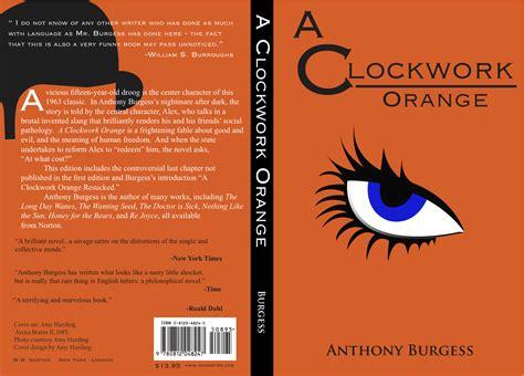a clockwork orange burgess tribute edition books harding 187 book cover redesign