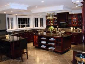 Kitchen Color Ideas With Wood Cabinets - kitchen floor tiles that match cherry wood cabinets kitchen flooring tile color ideas dark