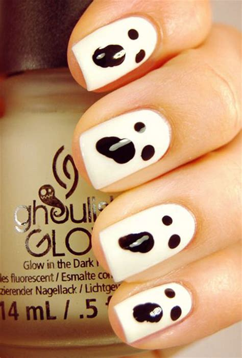 Ghost Nail Designs