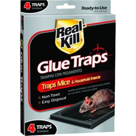 real kill mouse glue traps 4 pack hg 10095 3 the home