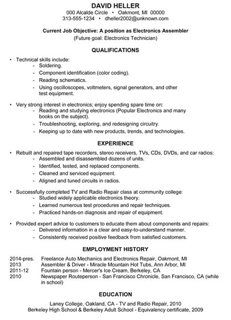 achievement resume sles archives damn resume guide
