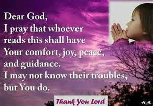 may you find peace and comfort be joyful keep on praying always be thankful helpful