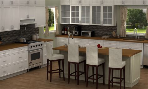 Install Kitchen Island by Our First Famous Kitchen Design Using Ikea S Sektion