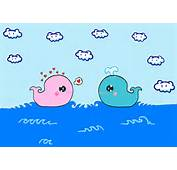 Cute Whale Wallpaper Whales By Kinky Redkitty HTML Code