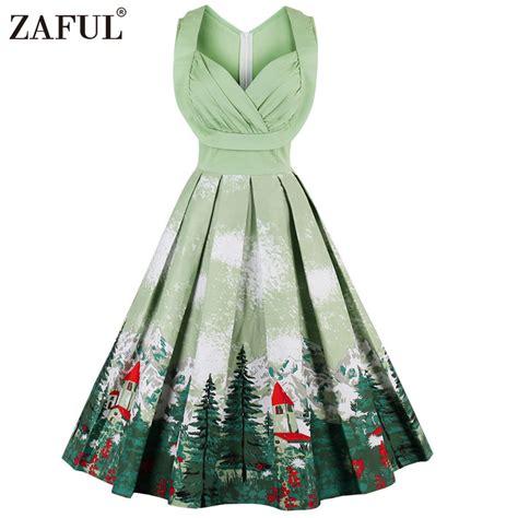 Vintage Accessories by Zaful Print Vintage Dresses Floral