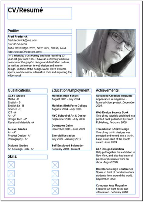Resume Cv Indesign How To Create A Modern Cv Resum 233 With Indesign Spyrestudios