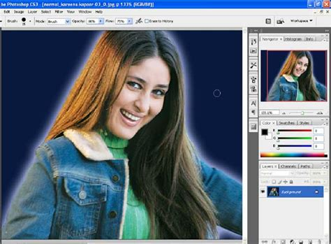cara edit foto ganti background di photoshop cs3 cara mengganti background foto dengan photoshop tonk