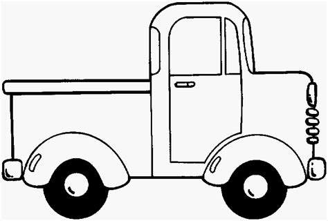 Blue Truck Coloring Page coloriage voiture 224 imprimer