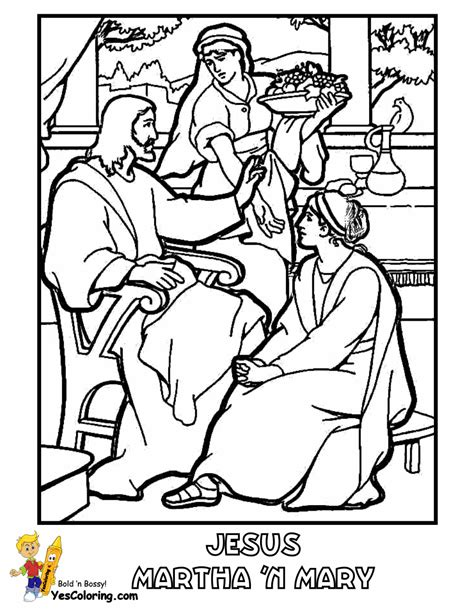 coloring pages jesus and martha coloring page anointing the of jesus bible coloring
