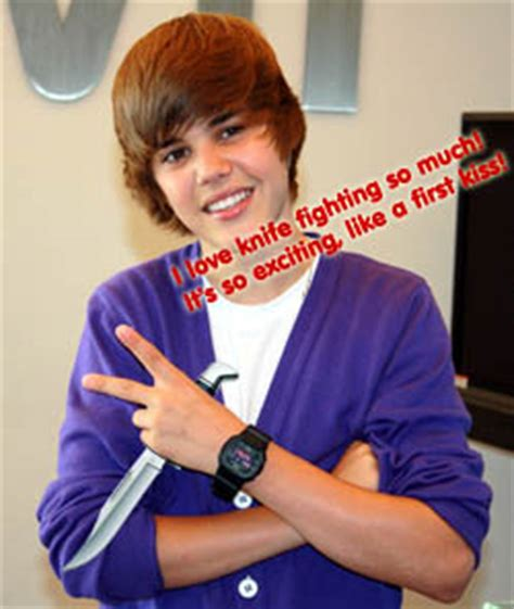 whats justin biebers favorite color justin bieber s favorite knife fighting techniques