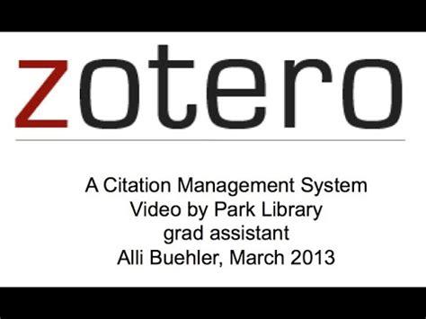 tutorial zotero deutsch zotero demonstation doovi