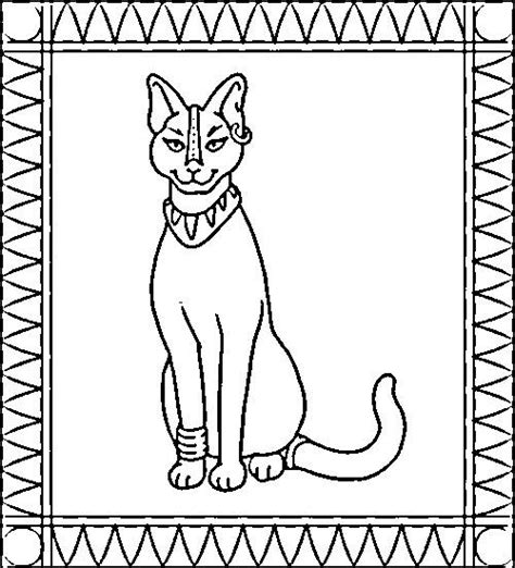 free coloring pages of ancient egyptians
