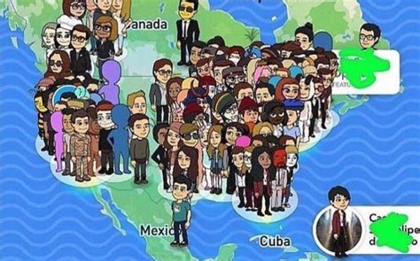 complete list of all the snap map bitmoji actions