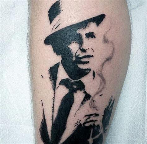 frank sinatra tattoo 50 frank sinatra designs for singer ink ideas