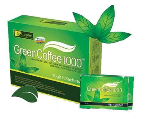 Coffee Green 1000 health is my business green coffee original family