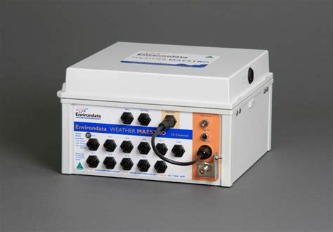 Temperature Data Logger Industrial 10 Channel environdata weather stations weather maestro
