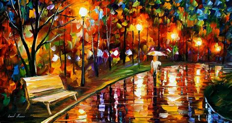 leonid afremov on canvas palette knife buy original