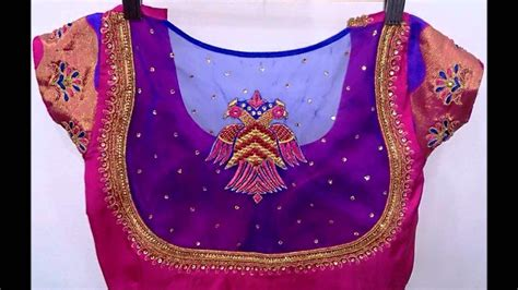blouse pattern net saree fancy blouse pattern images long sleeved blouse