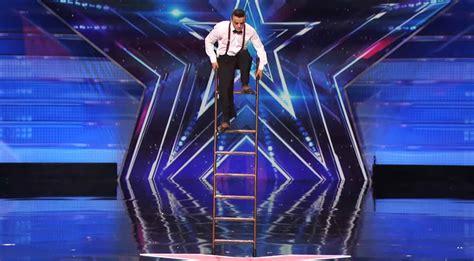 america s got talent act amazing ladder act by uzeyer novruzov america s got talent