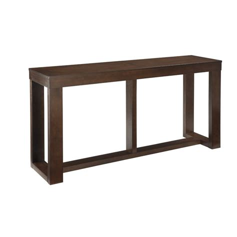 brown console table watson console table in brown t481 4