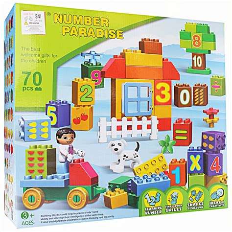 mainan building set and blocks series mainananakonline