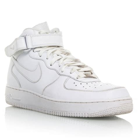 nike air 1 mens basketball shoes white