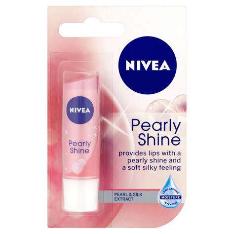 Lip Balm Pink Shineskin nivea pearly shine lip balm 4 8g at wilko