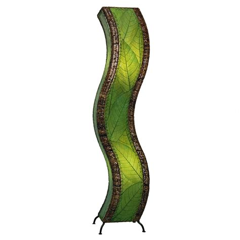cocoa leaf l shade eangee home design fossilized cocoa leaves green color
