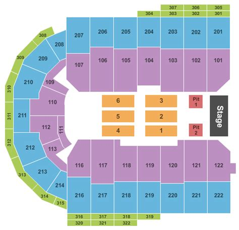 erie insurance arena seating concert venues in erie pa concertfix