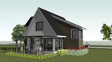 modern cottage house plans small cottage cabin beach home design scandia modern