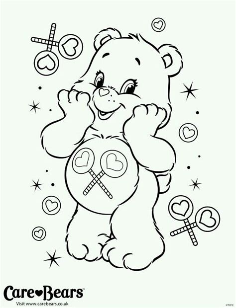 Share Bear Coloring Pages | 17 best images about care bear share bear 4 on pinterest